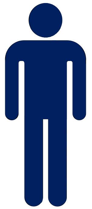 Icon Blue Man