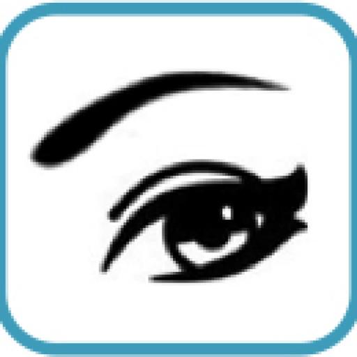 Ojo pequeño liderando con ojos de Mujer