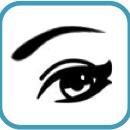 Cuadrado Liderando con ojos de Mujer